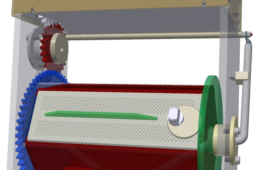 Nouvelle gamme complète de 3 dimensions de tonneaux de traitement tout en PMMA